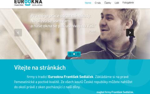 Eurookna František Sedláček - Prezentace firmy zabývající se výrobou dřevěných oken