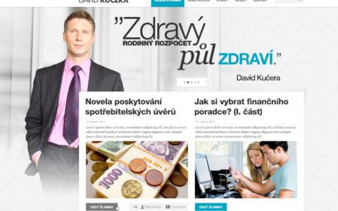 David Kučera - Blogové řešení webových stránek