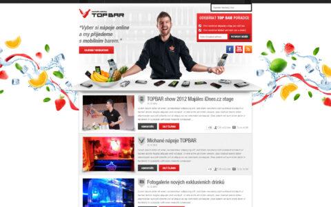 TopBar - Webová prezentace firmy TopBar
